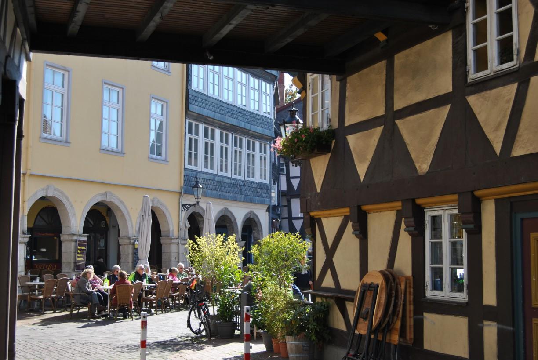Wolfenbüttels Altstadt - Fachwerk und gemütliche Cafés © Keno