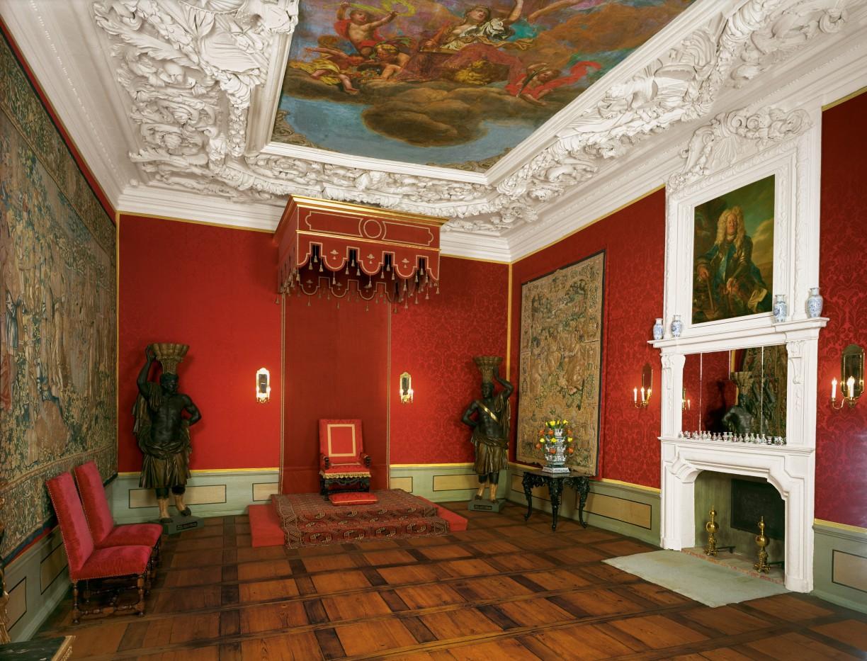 Audienzzimmer im Schloss Wolfenbüttel, © Stadt Wolfenbüttel