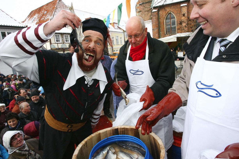 Humor hat er jedenfalls, der große Seeräuber Foto: © Ralf Reincken