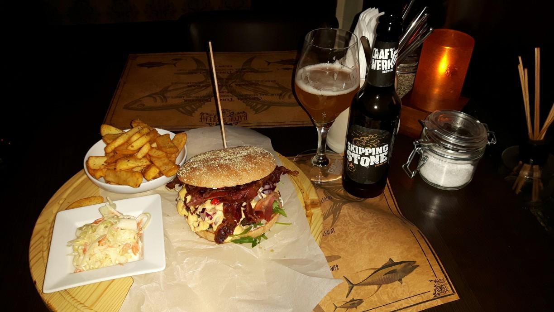 Große Auswahl an Burgern im Bacon Supreme - Restaurant in Göttingen