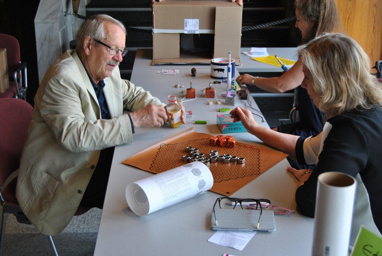 Der Vater des Spieleautorentreffens - Dr. Reinhold Wittig