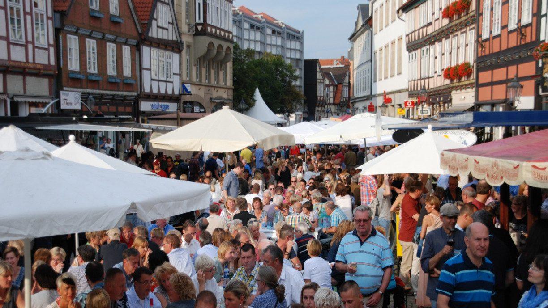 Publikum beim Celler Weinmarkt