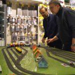 Eisenbahn beim Männerabend im Spielzeugladen Schütte in Gifhorn