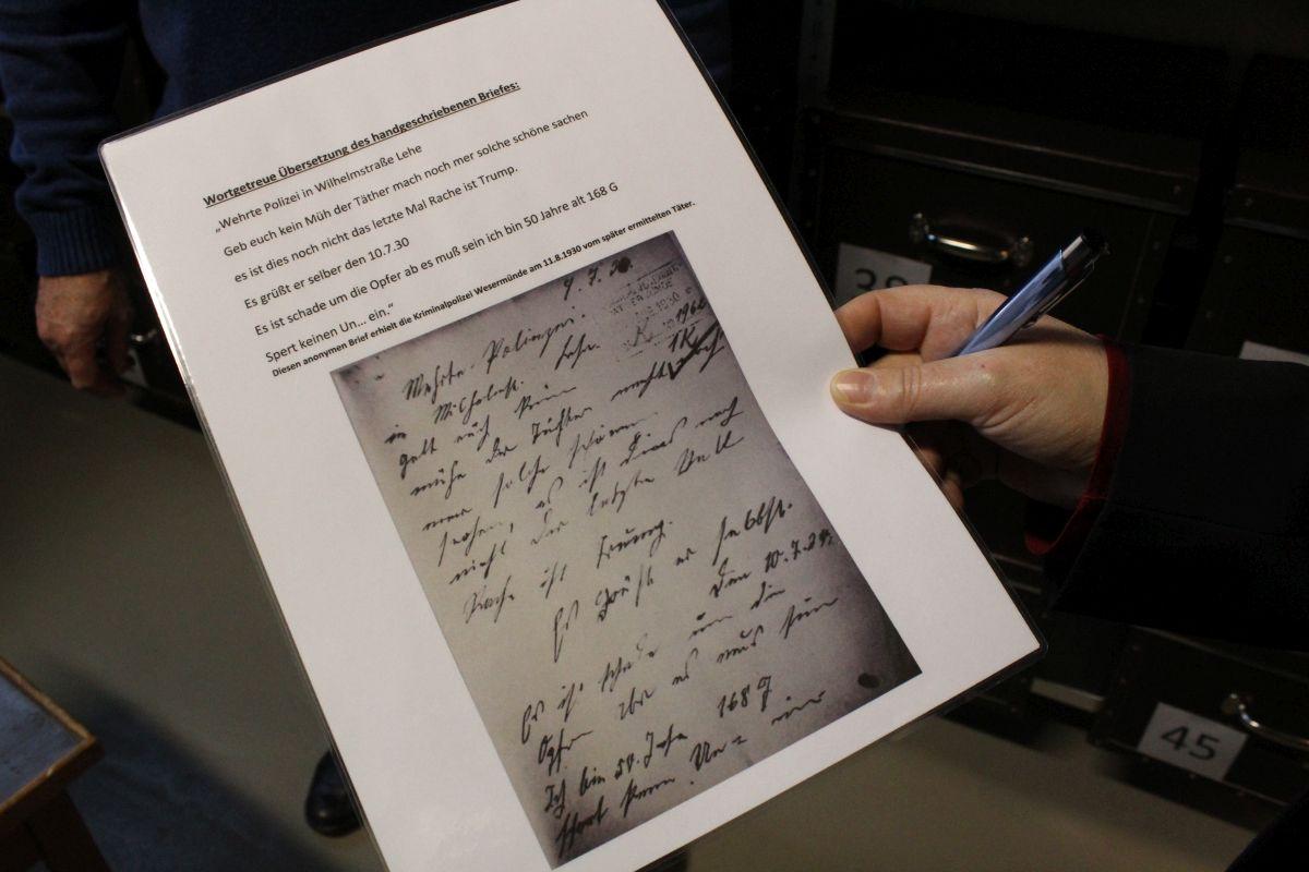 Abdruck Brief
